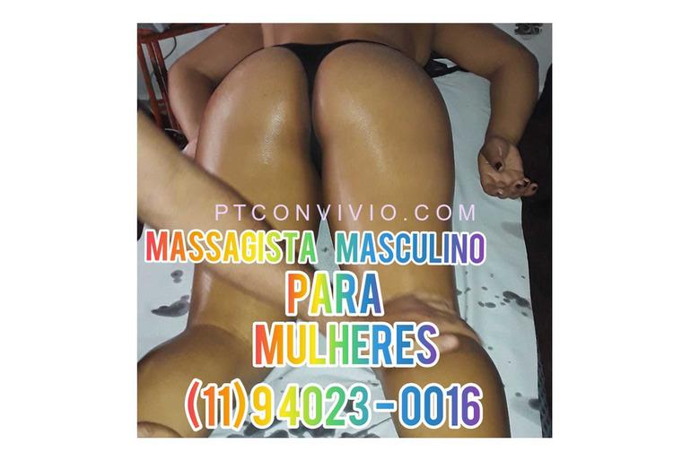 MASSAGISTA MASCULINO ATENDO CASADAS E SOLTEIRAS MASSAGEM INTIMA (11) 9 4023-0016