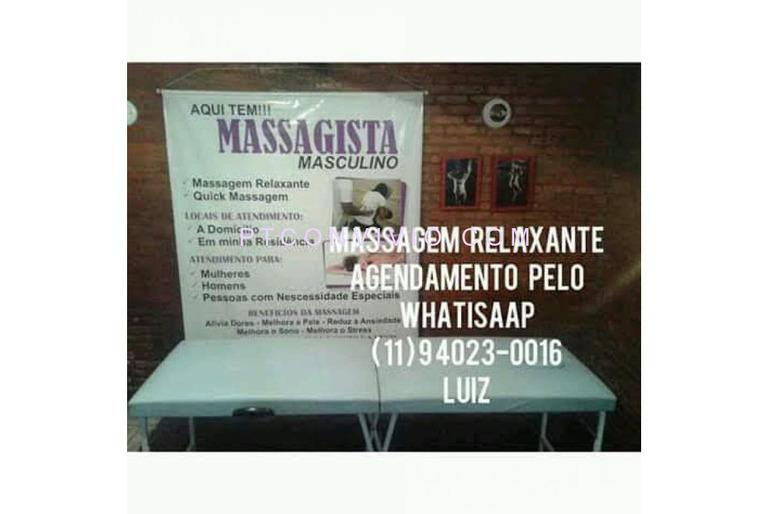 MASSAGISTA MASCULINO PARA RAPAZES , MASSAGEM RELAXANTE E MASSAGEM  PENIANA (11) 9 4023-0016