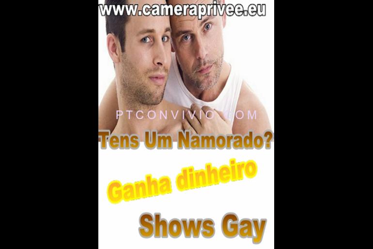 Lesbicas e gays na webcam